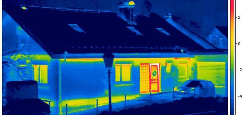 Тепловизионная съемка любых объектов недвижимости